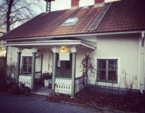 Västra flygeln, Karby Gård, Täby